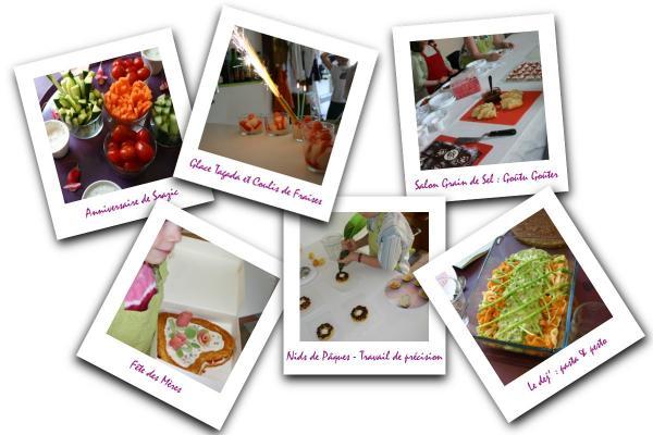 Recette de cuisine petites annonces culinaires centre - Cours cuisine pour enfants ...