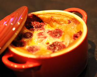 Clafoutis aux fruits rouges en ...
