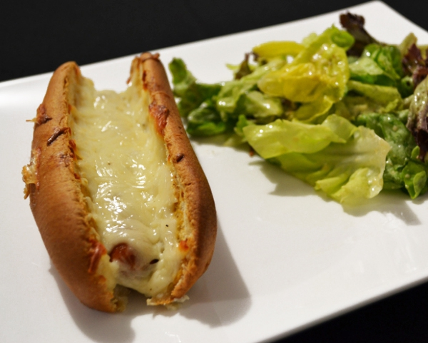 recette hot dog gratin d couvrez cette recette de cuisine sur recette. Black Bedroom Furniture Sets. Home Design Ideas