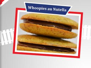 Whoopies aux spéculos et nutella