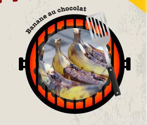 Banane au chocolat