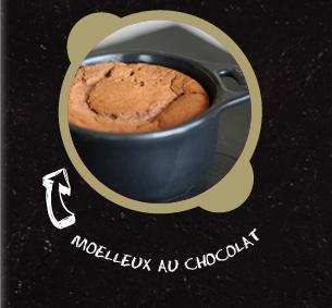 Mini cocotte de moelleux au chocolat