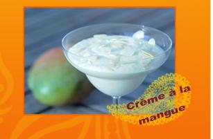 Crème à la mangue