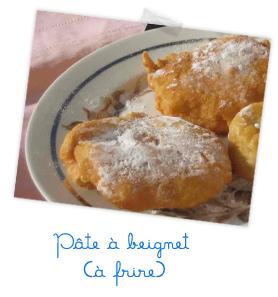 pâte â beignet