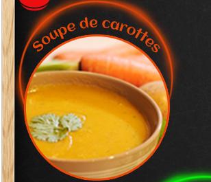 Soupe de carottes et coriandre