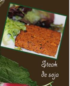 Steak de soja