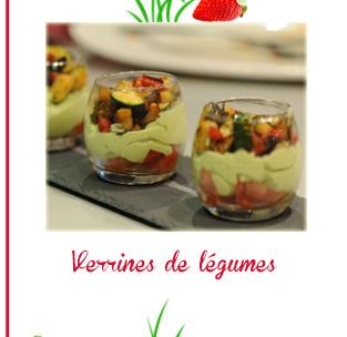 Verrines de légumes