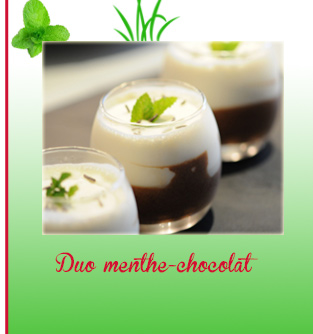 Duo menthe-chocolat